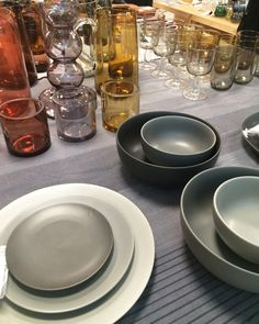 These tableware pieces are part of the new SITTNING collection which hits Canadian stores in September. It only be available for 4-6 weeks or while supplies last. I love the combination of colours. There are also some really beautiful wood trivets, cutting boards and candlesticks.
