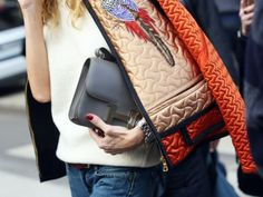 Hermes Constance Grey, street style