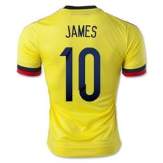 2015 james rodríguez soccer jersey
