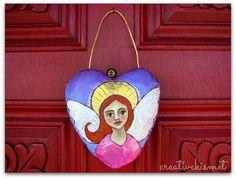door angel by Regina (creative kismet)