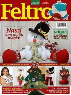 Dica de Revista: Cole��o Boas Festas Feltro