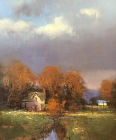 "Romona Youngquist     ""Oregon Autumn"" 24x20"