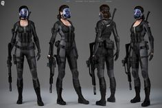 Resident Evil: Operation Raccoon City - Commander Lupo Character Model