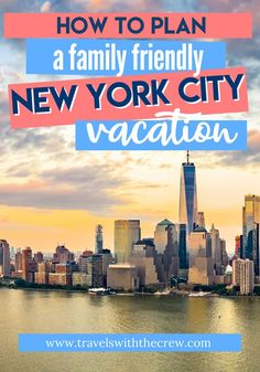 The Ultimate Guide to NYC for first timers – Travels With The Crew New York City Vacation, New York City Travel, Travel With Kids, Family Travel, Family Vacations, New York Travel Guide, Travel Tips, Travel Destinations, Dinosaur Museum