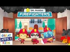 Dr. Panda Firefighters | Game App for Kids