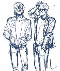 by Viria.  James and Sirius.