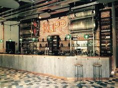 KuPP, new an all-day food, drink, coffee and retail offering in the newly developed Merchant Square, Paddington Basin, London. Opened by Faucet Inns.
