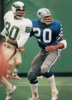 "Mel Renfro -  "" the bullet ""   had speed that nobody could match ."