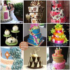 unusual stunning wedding cakes | Unique Wedding Cakes, Hispanic Couple Figurine Wedding Cake Topper