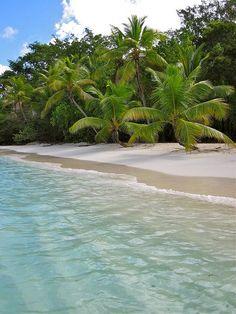 A Slice of Paradise by haddartist, via Flickr~ by St. John in tne U.S. Virgin Islands