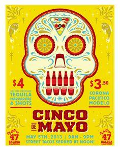 Class of 47 Cinco De Mayo Poster by Hoodzpah