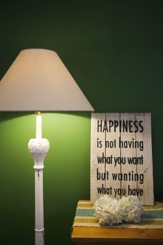 Photo by #berryjuansyah #decor #green #qoutes #lighting #design
