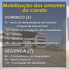 NONATO NOTÍCIAS: CAVALGADA EM SALVADOR ABRE PROGRAMAÇÃO DE MOBILIZA...