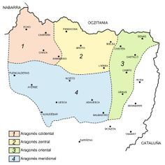 variedades del aragonés