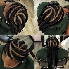 Stunningly Cute Ghana Braids Styles For 2017 Ghana braids are still in vogue in yes Ghana braids styles are still popular and are one of the most highly sort after African hairstyles of The main reasons for the popularity of this hairstyle is Ghana Braids Hairstyles, African Hairstyles, Hairstyles With Bangs, Braided Hairstyles, Bald Hairstyles, Hairstyles Videos, Ghana Braid Styles, Curly Hair Styles, Natural Hair Styles