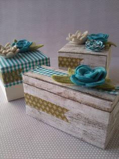 My creative world ...: Still more boxes ...