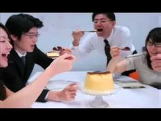 Giga Pudding  - totally love this japanese commercial!!!