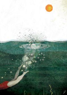'Jump', made by: Frann Preston-Gannon - illustration, 2012