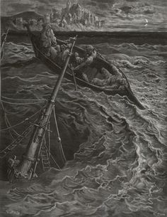 Gustave Dore Ancient Mariner | The Rime of the Ancient Mariner by Gustave Doré (Pisan, engraver ...