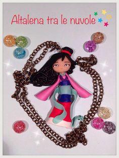 Disney Princess Mulan.. #mybestfimo #polymerclay #lovehandmade