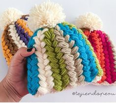 Crochet Puff Stitch Hat Pattern Tutorial |