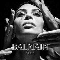 Balmain debuts most star-studded campaign EVER with Kim Kardashian and Kylie Jenner | Daily Mail Online