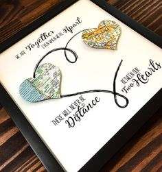 Personalized Best Friend Gift Going Away Gift by BloomingDoorDecor                                                                                                                                                                                 More