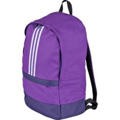 Buy Adidas Versatile Adi Stripe Backpack - Purple at Argos.co.uk - Your Online Shop for Backpacks and sports bags, Bags, luggage and travel,...