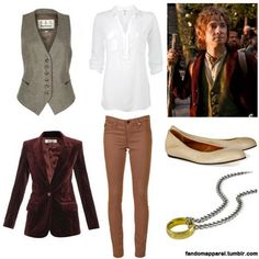"I want to be Bilbo for Halloween next year, than I can run around yelling ""I'm going on an adventure!"""