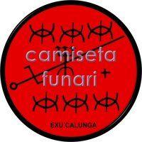 ponto riscado exu CALUNGA by camiseta-funari