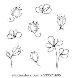 Bullet Journal Banner, Bullet Journal Art, Flower Doodles, Doodle Flowers, Tattoo Filler, Aluminum Foil Art, Flower Drawing Tutorials, Bible Doodling, Circle Tattoos