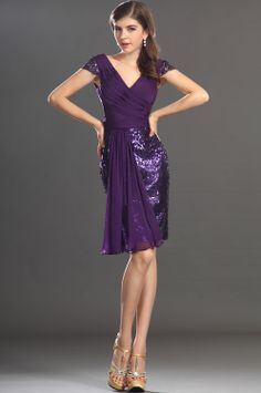 eDressit 2013 New Cap sleeves Shiny Sweety Cocktail Dress Party Dress