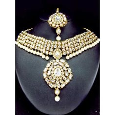 Heavy Kundan Necklace Set