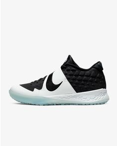 The Nike Force Zoom Trout 6 Turf is built for your pregame routine. Durable molded material and a midfoot strap help keep your foot ventilated and secure when you're taking batting practice or shagging fly balls before first pitch.