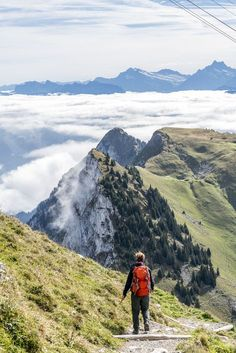 Stockhorn Panoramawanderung Places In Switzerland, Easy Jet, Summer Bucket Lists, Holiday Pictures, Top Of The World, Outdoor Life, Rock Climbing, Solo Travel, Trekking