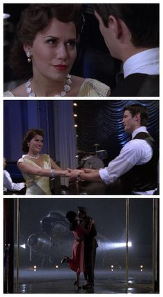 """wasn't entirely sure which board to put this one on. of course the hair and fashion are both great, but more so it just reveals my obsession with the 40's. One Tree Hill Season 6, Episode 11 """"We Three (My Echo, My Shadow and Me)"""" © 2008"""