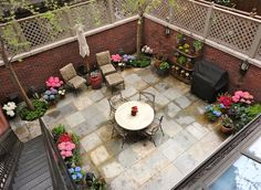 after our townhouse backyard after.   yard   pinterest   townhouse ... - Small Townhouse Patio Ideas