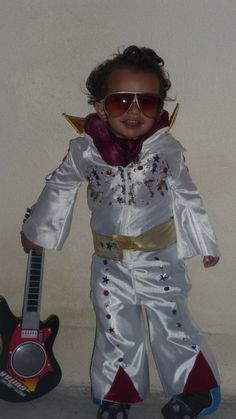 Great costume for kids: Little Elvis!