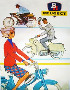 1960 Peugeot   Sixties, scooter, classic