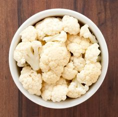Grate the cauliflower on a cheese grater and then steam for 5 minutes. Press out any excess water then mix, in a medium bowl, with the egg and mozzarella. Press evenly on the pan. Sprinkle evenly with fennel, oregano and parsley.  Bake at 450 degrees for 12-15 minutes.  Remove the pan from the o…