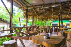 Panaderia Delicias table layout Drake town, Osa Peninsula Costa Rica #food #foodie #vacation #travel
