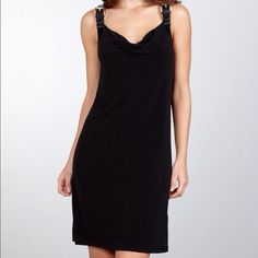 Spotted while shopping on Poshmark: 🎉HP🎊Michael Kors LBD with Leather buckle! #poshmark #fashion #shopping #style #Michael Kors #Dresses & Skirts