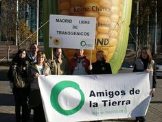 In 2007 Friends of the Earth's work to keep Europe free of genetically modified organisms (GMOs) saw many successes. Madrid, Spain Friends of the Earth say hell no to GMOs - http://www.PaulFDavis.com global food consultant and health coach (info@PaulFDavis.com)