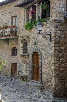 Beautiful Montefioralle, Tuscany, Italy