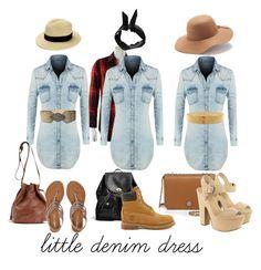 """little denim dress... must have"" by abelaz on Polyvore"