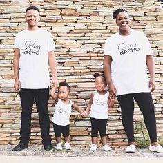 Custom printed T shirts. Family photo shoot