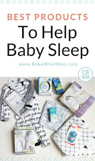 The Best Products to Help Your Baby Sleep. Get great naps and have baby sleep through the night. #baby #babysleep #babyproducts #newborn #newbornsleep #swaddleblanket #soundmachine