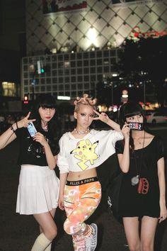 Yes Asian StreetDrop Tokyo Pastel Goth Fashion, Quirky Fashion, Kawaii Fashion, Minimal Fashion, Grunge Fashion, Boho Grunge, Japanese Street Fashion, Tokyo Fashion, Harajuku Fashion