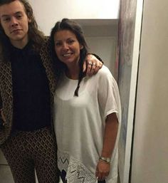 Harry and Anne // leaked photo from Anne's (Harry's mum) iCloud