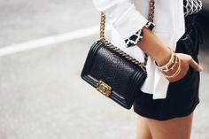 Image uploaded by just_brilliance. Find images and videos about fashion, chanel and boy bag on We Heart It - the app to get lost in what you love. Chanel Le Boy, Chanel Mini, Chanel Purse, Chanel Handbags, Chanel Bags, Chanel Chanel, Chanel Boy Bag Small, Balmain, Shoes
